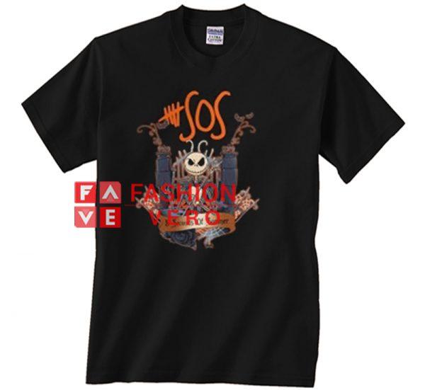 Jack Skellington 5 seconds of summer Unisex adult T shirt