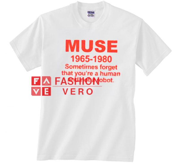 Muse 1965 1980 Unisex adult T shirt