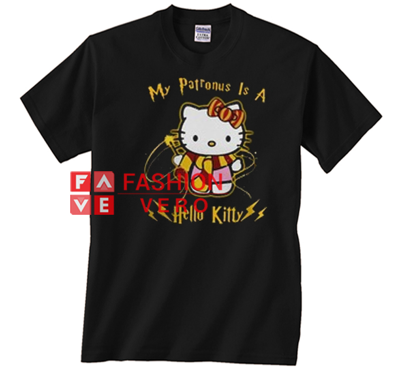 0085b9c35 My Patronus is a Hello Kitty Unisex adult T shirt