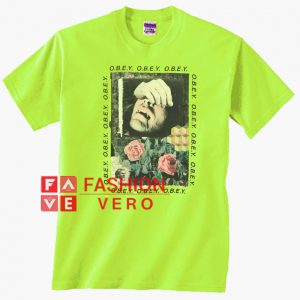 Obey Vampire Green Unisex adult T shirt