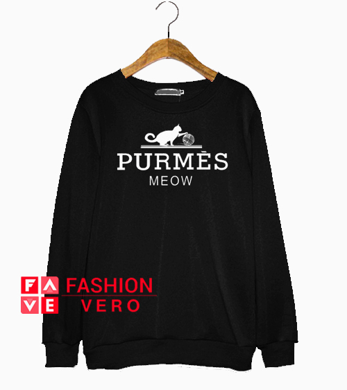 Purmes Meow Sweatshirt