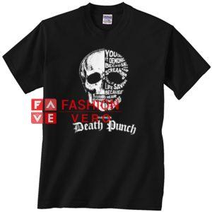 Skull Death Punch Unisex adult T shirt