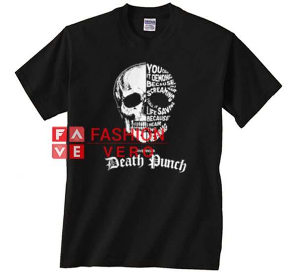 Skull Death Punch Unisex adult T shirt