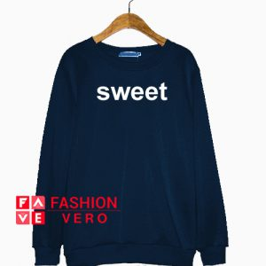 Sweet Navy Color Sweatshirt