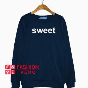 Sweet Navy Color Sweatshirt