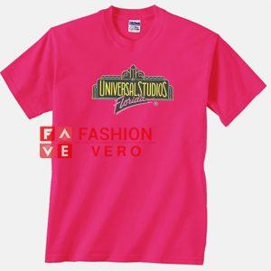 Universal Studio Florida Hot Pink Color Unisex adult T shirt