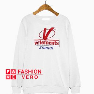 Vetements Zurich Sweatshirt