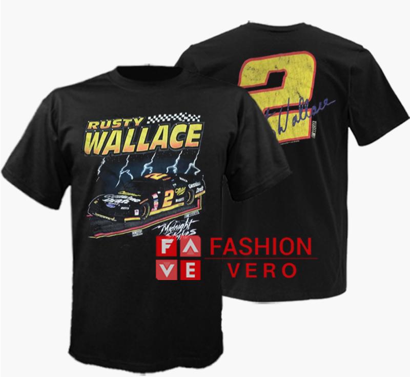 a2a94120 Vintage Nascar Rusty Wallace Unisex adult T shirt