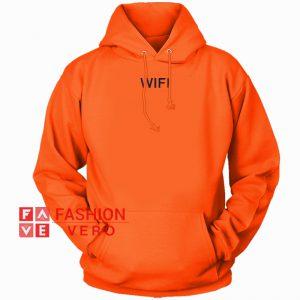 Wifi Orange HOODIE - Unisex Adult Clothing