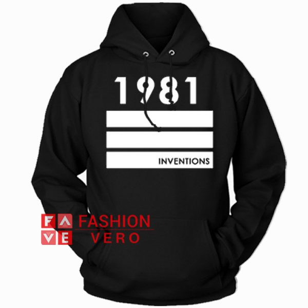 1981 Inventions HOODIE Unisex Adult Clothing