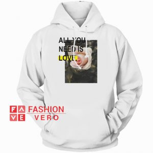 All You Need Is Love HOODIE - Unisex Adult Clothing