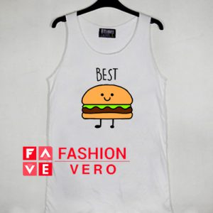 Burger French Fries BFF Best Friend Tank top