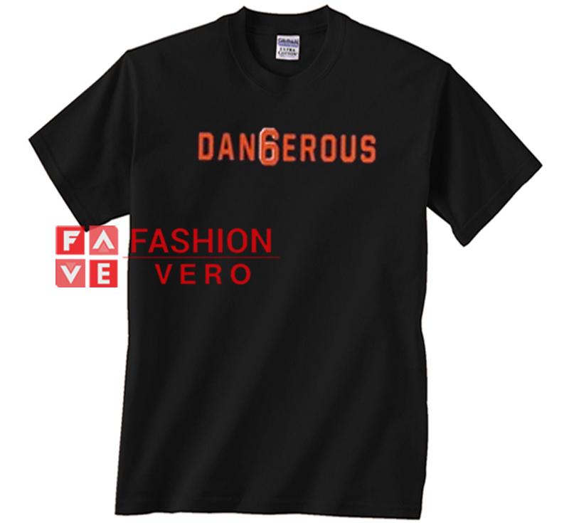 innovative design 833ba abaf1 Cleveland Browns Baker Mayfield 6 Dangerous Unisex adult T shirt
