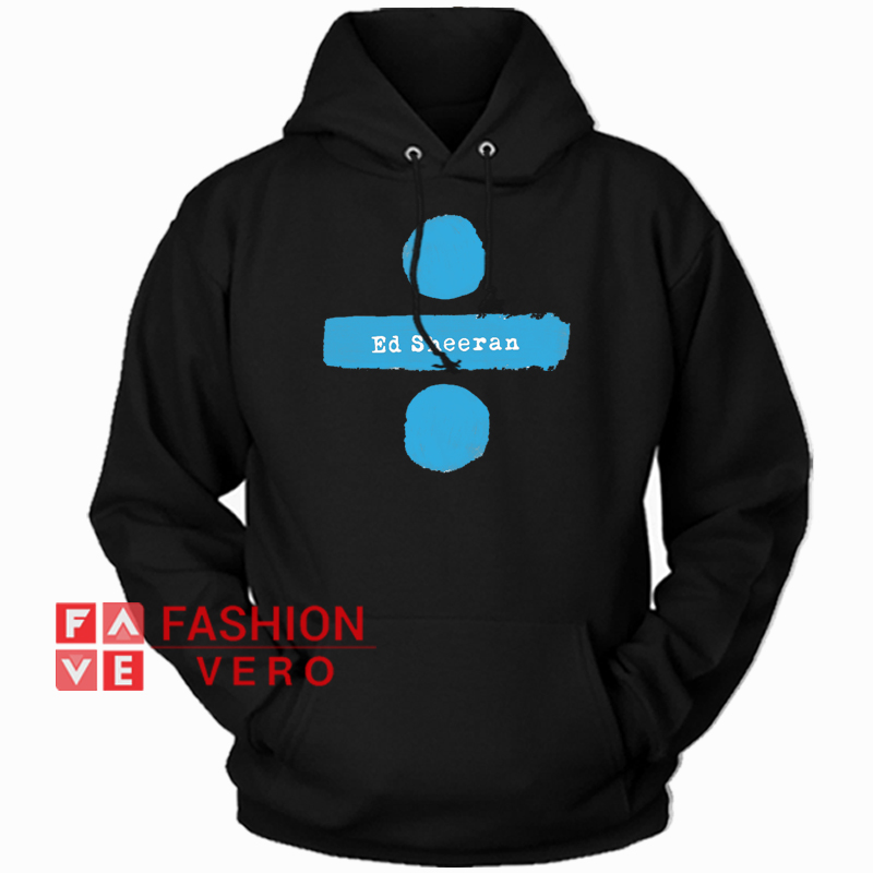05028ee1226 Ed Sheeran Divide Tour HOODIE - Unisex Adult Clothing