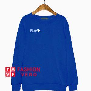 Play Logo Blue Sweatshirt