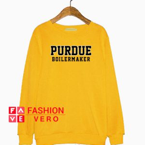 Purdue Boilermaker Gold Yellow Sweatshirt
