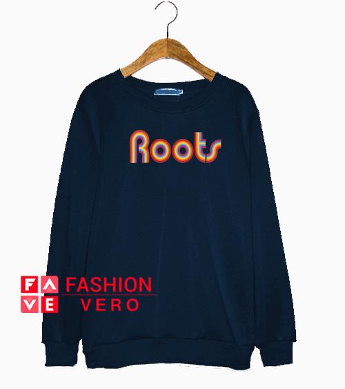 Rainbow Roots Navy Color Sweatshirt