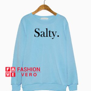 Salty Light Blue Sweatshirt