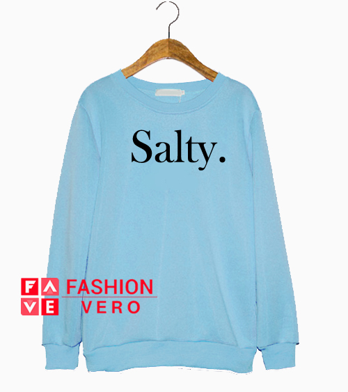 Salty Light Blue Sweatshirt