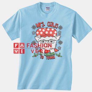 Santa Claws Cat Unisex adult T shirt