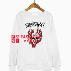Suffocation Skeleton Heart Sweatshirt