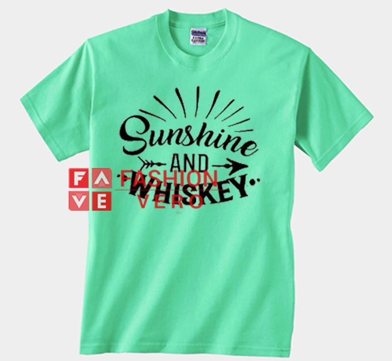 5cc13760b9dc Sunshine And Whiskey Mint Green Unisex Adult T Shirt