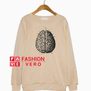 Anatomical Brain Sweatshirt