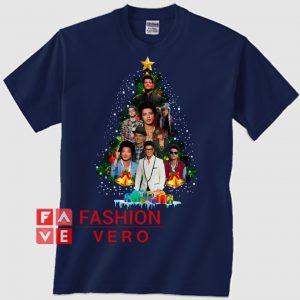 a71473e6 Bruno Mars Christmas tree Unisex adult T shirt