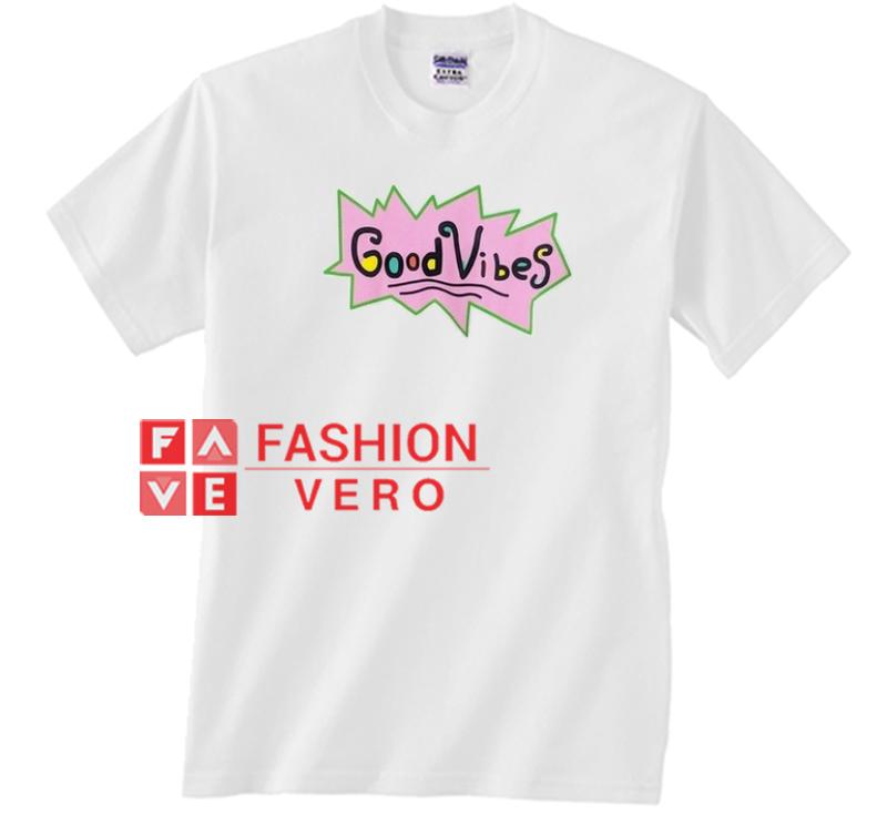 Good Vibes Rugrats Logo Unisex adult T shirt