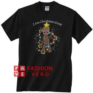 I Am Christmas Groot Unisex adult T shirt