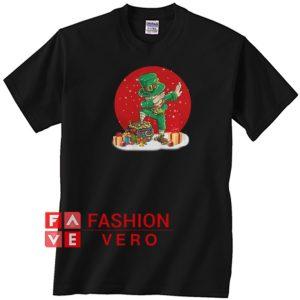 Irish Dabbing Christmas Unisex adult T shirt