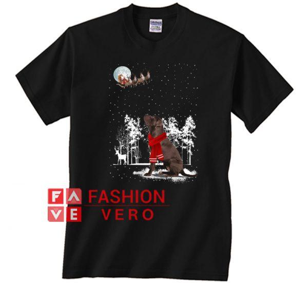 Labrador Merry Christmas Unisex adult T shirt