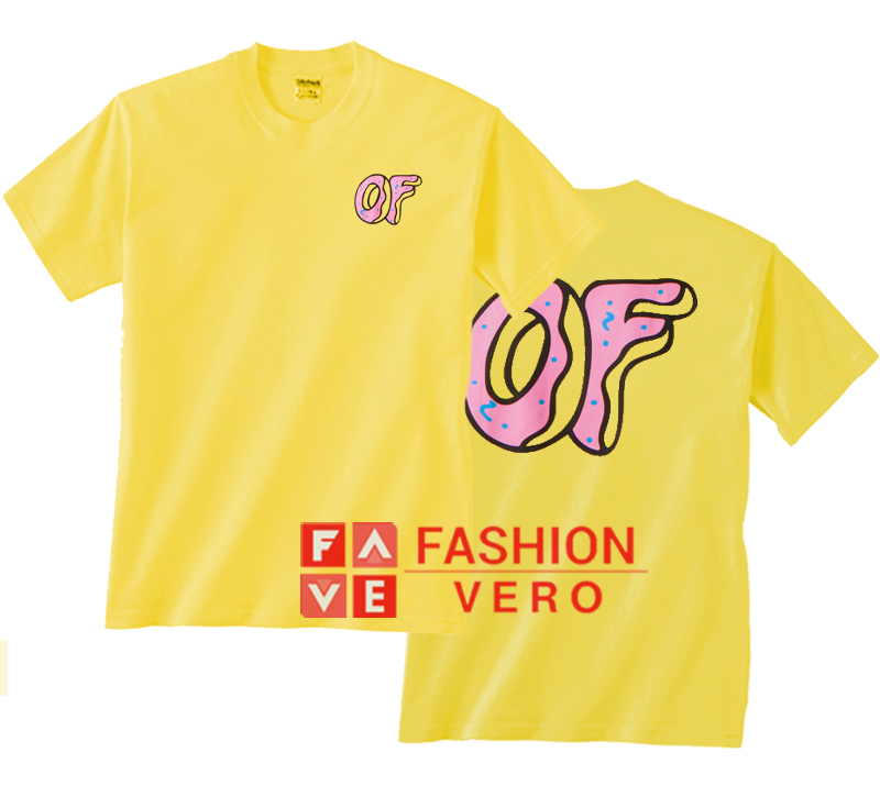 74cc816d2b641f Odd Future Yellow Pink OF Donut Unisex adult T shirt