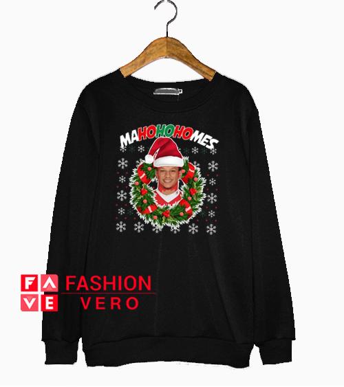 Patrick Mahomes MaHOHOHOmes Christmas Sweatshirt