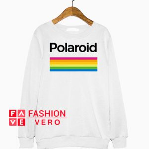 Polaroid Color Spectrum Horizontal Sweatshirt