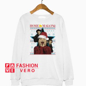 Post Malone Home Merry Ugly Christmas Sweatshirt