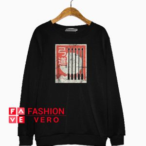 Retro Japanese Archery Kyudo Sweatshirt