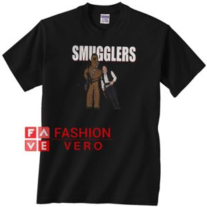 Smugglers Han Solo Unisex adult T shirt