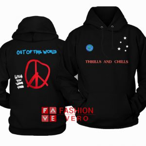 Travis Scott Astroworld World Peace HOODIE - Unisex Adult Clothing