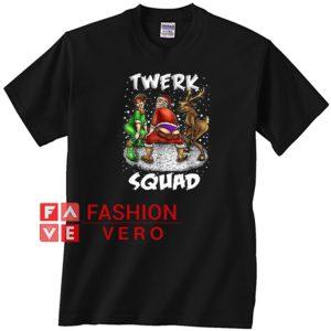 Twerk Squad Santa And Elf Twerking Christmas Unisex adult T shirt