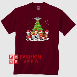 U2 Band Christmas Tree Unisex adult T shirt