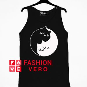 Yin Yang Cats Tank top