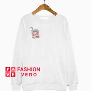 Peach Juice Box Sweatshirt