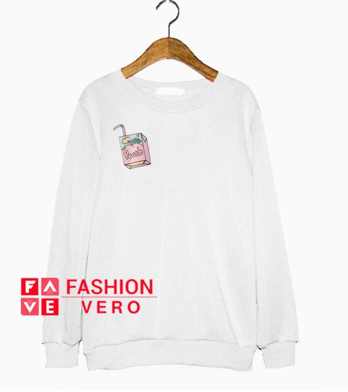 Peach Juice Box Sweatshirt