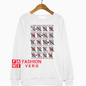 100th day tally mark teacher Sweatshirt