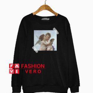 Angel Baby Valentines Sweatshirt