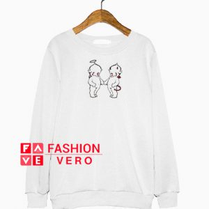 Angel and Devil Baby Sweatshirt