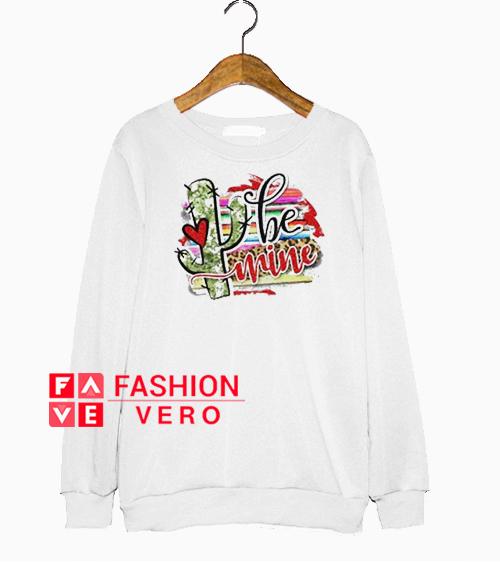 Be Mine Cactus Coloring Sweatshirt