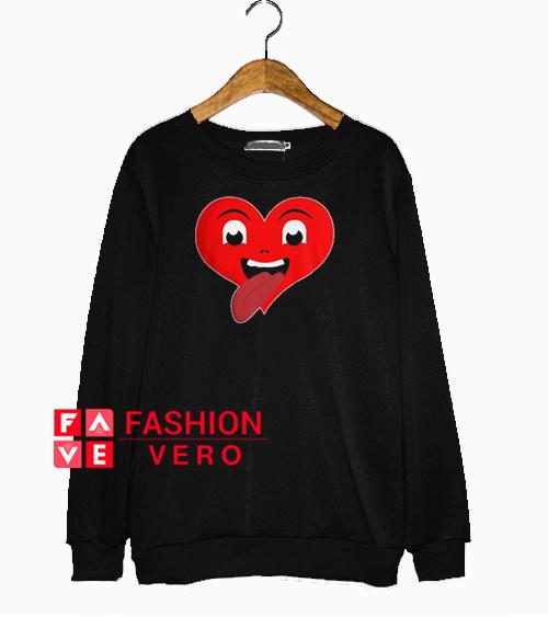 Heart Tongue Sweatshirt
