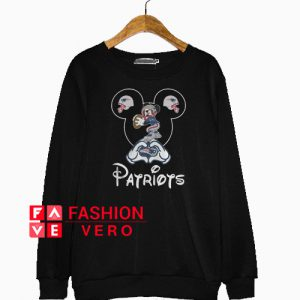 New England Patriots Mickey Mouse Sweatshirt